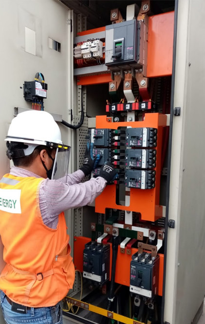 mantenimiento de tableros electricos industriales AE ENERGY